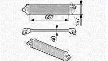 Radiator intercooler FORD C-MAX DM2 MAGNETI MARELL...