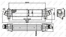 Radiator intercooler Ford Mondeo 3 (2000-2008) [B5...