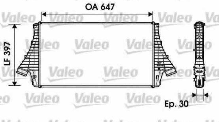Radiator intercooler HYUNDAI GRAND SANTA FÉ VALEO 817729