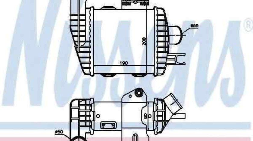Radiator intercooler HYUNDAI TUCSON (JM) NISSENS 96661