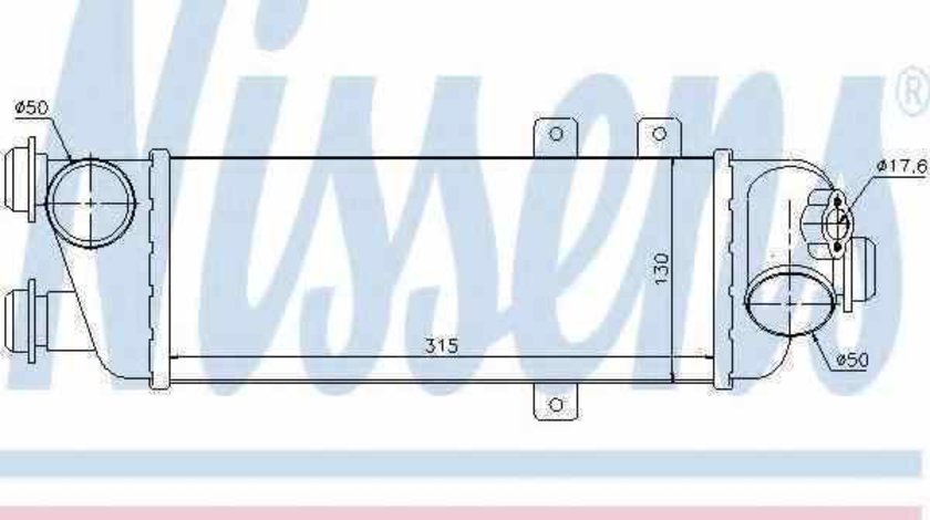 Radiator intercooler KIA PRO CEE'D ED NISSENS 96562