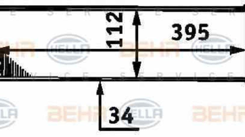 Radiator intercooler MERCEDES-BENZ A-CLASS W168 HELLA 8ML 376 723-311
