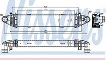Radiator intercooler MERCEDES-BENZ C-CLASS (W204) ...