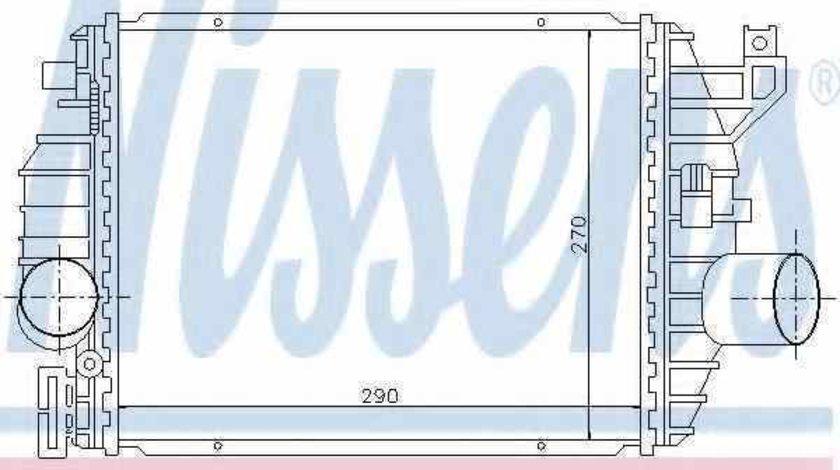 Radiator intercooler MERCEDES-BENZ VITO caroserie 638 NISSENS 96894