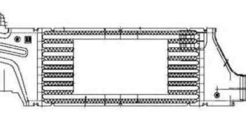Radiator intercooler OPEL COMBO caroserie inchisa/combi NRF 30429