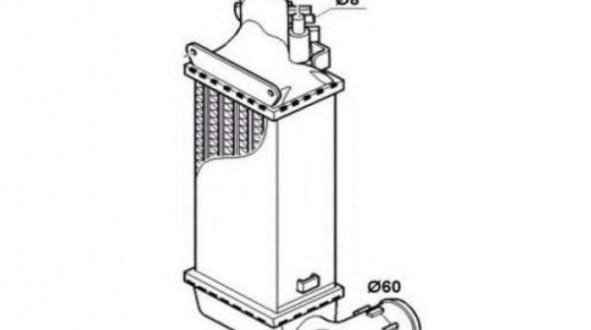 Radiator intercooler Peugeot 607 (2000->)[9D,9U] #3 0384F3