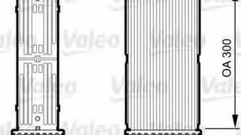 Radiator intercooler PEUGEOT PARTNER caroserie 5 VALEO 817706