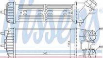 Radiator intercooler PEUGEOT PARTNER Combispace 5F...