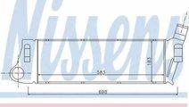 Radiator intercooler RENAULT MEGANE II BM0/1 CM0/1...