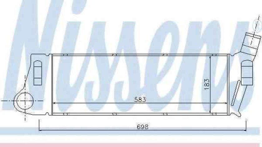 Radiator intercooler RENAULT MEGANE II combi KM0/1 NISSENS 96728