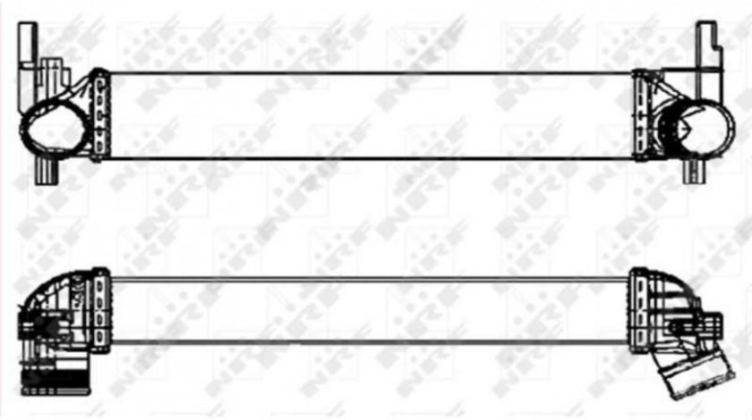 Radiator intercooler Skoda Rapid (2012->)[NH3,NH1] #3 30253