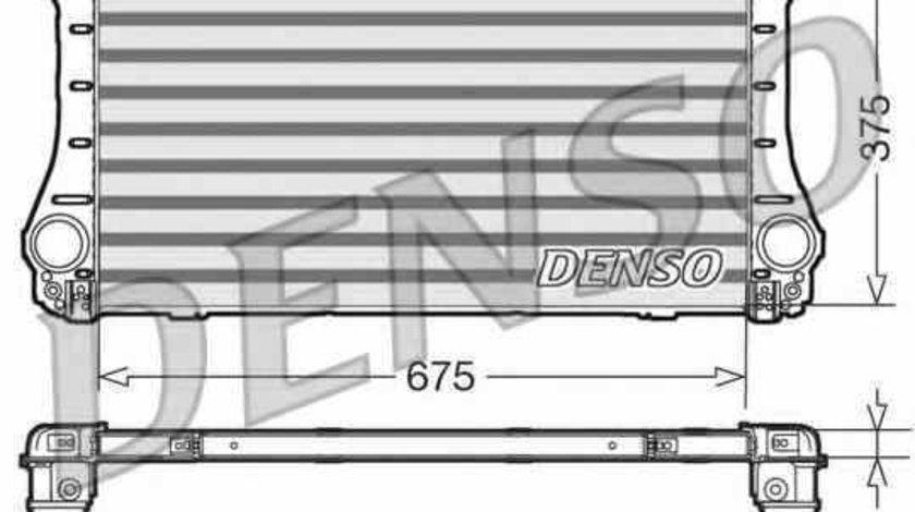 Radiator intercooler TOYOTA AVENSIS limuzina ZRT27 ADT27 Producator DENSO DIT50006