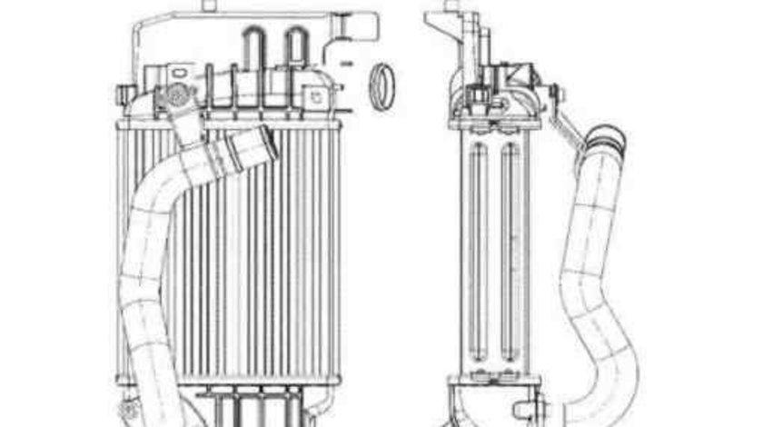 Radiator intercooler TOYOTA YARIS (SCP9_, NSP9_, KSP9_, NCP9_, ZSP9_) NRF 30785