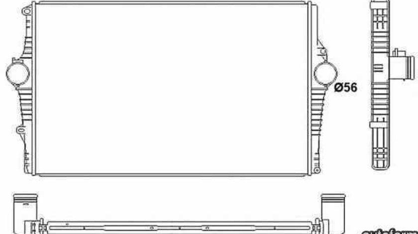 Radiator intercooler VOLVO S60 I NRF 30249