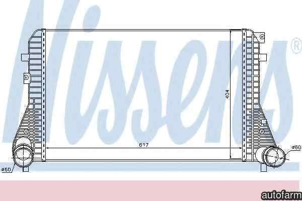 Radiator intercooler VW BEETLE 5C1 NISSENS 96575