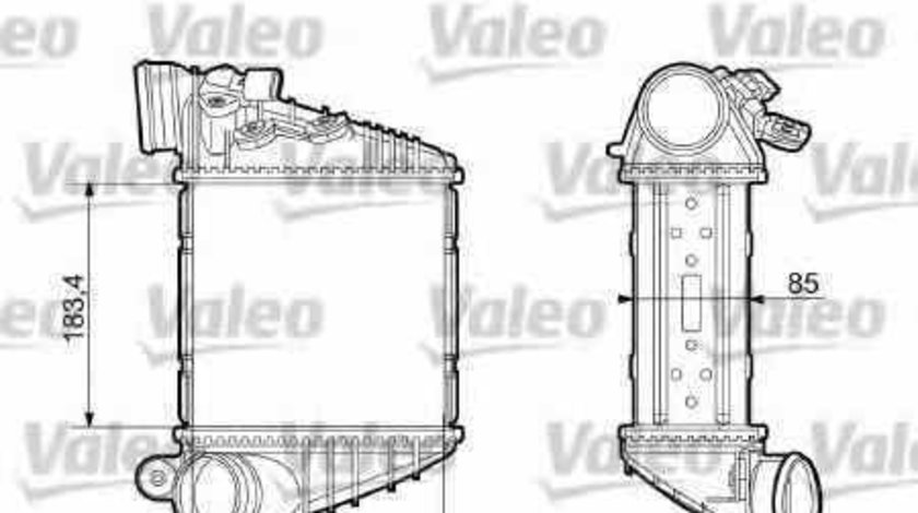 Radiator intercooler VW GOLF IV 1J1 VALEO 817653
