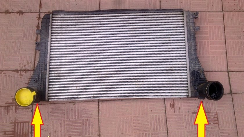 Radiator intercooler vw skoda