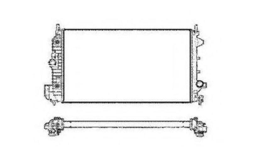 Radiator, racire motor FIAT CROMA (194) (2005 - 2016) NRF 58205 produs NOU
