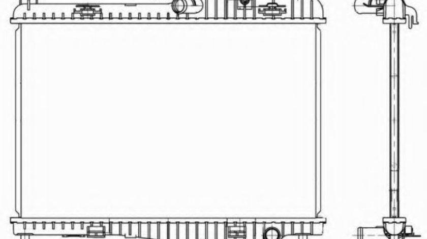 Radiator, racire motor FORD B-MAX (JK) (2012 - 2016) NRF 53152 piesa NOUA