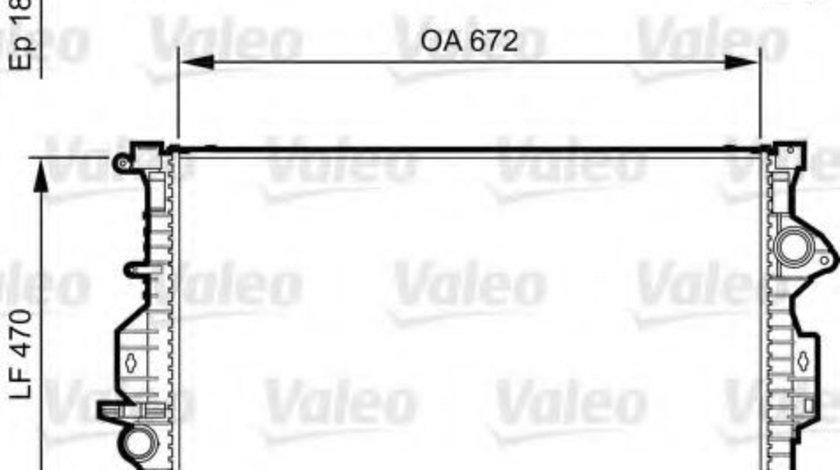 Radiator, racire motor FORD GALAXY (WA6) (2006 - 2015) VALEO 735373 piesa NOUA