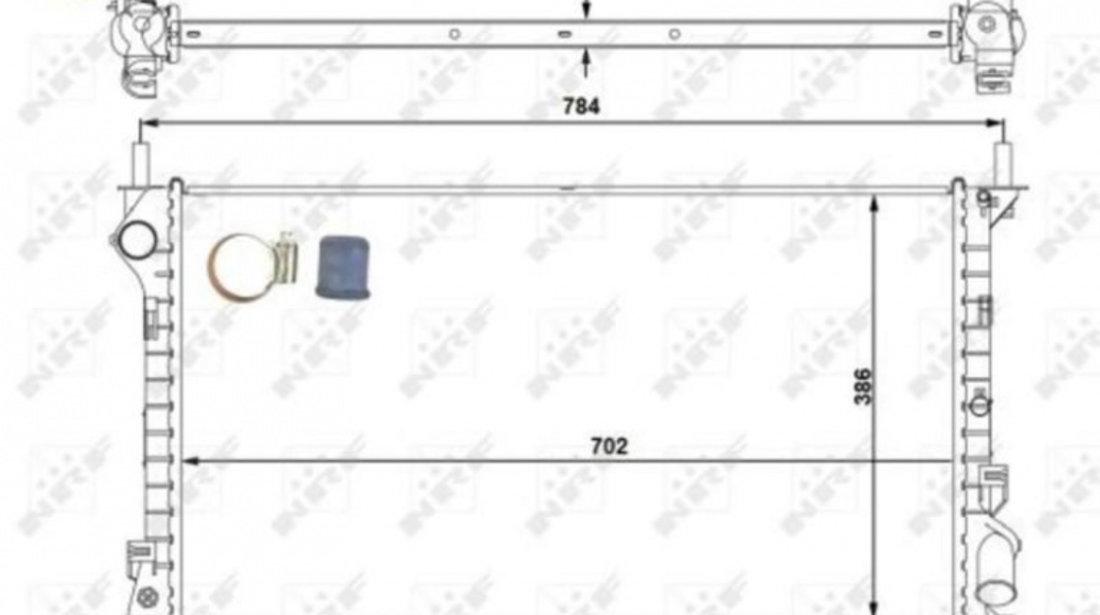 Radiator, racire motor Ford Transit Connect (2002-2012)[P65_,P70_,P80] #2 01053100
