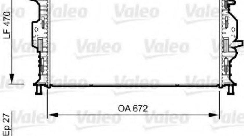 Radiator, racire motor LAND ROVER FREELANDER 2 (LF, FA) (2006 - 2014) VALEO 735376 produs NOU