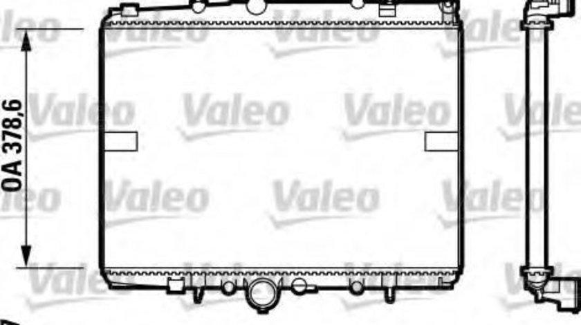Radiator, racire motor PEUGEOT 607 (9D, 9U) (2000 - 2016) VALEO 732599 produs NOU