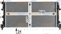Radiator, racire motor SEAT IBIZA V ST (6J8, 6P8) ...