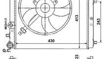 Radiator, racire motor VW POLO (6R, 6C) (2009 - 20...
