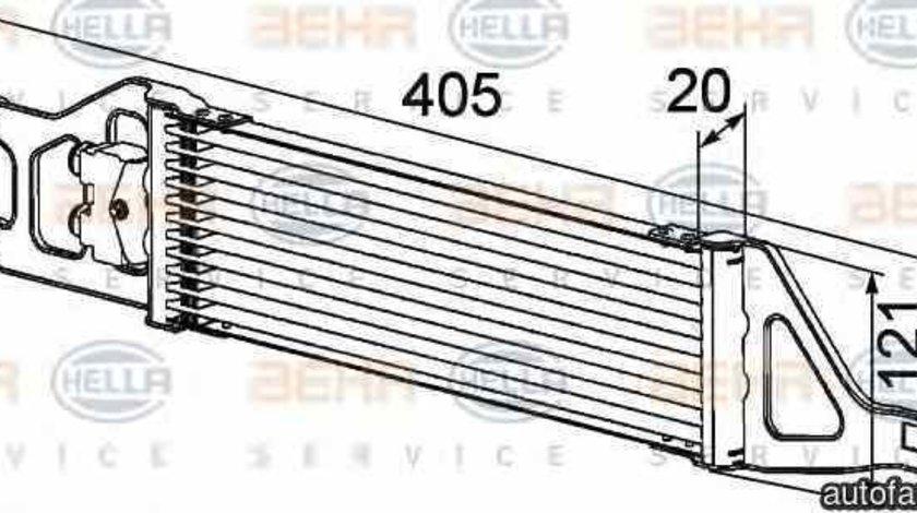 Radiator racire ulei cutie de viteze automata MERCEDES-BENZ B-CLASS W245 HELLA 8MO 376 726-401