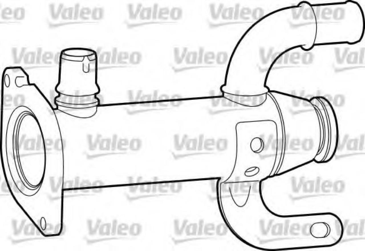 Radiator, recirculare gaze de esapament PEUGEOT 307 SW (3H) (2002 - 2016) VALEO 817753 piesa NOUA