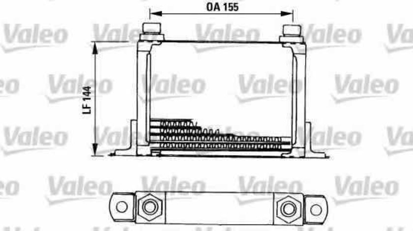 Radiator ulei ulei motor FIAT BRAVO I 182 VALEO 816666