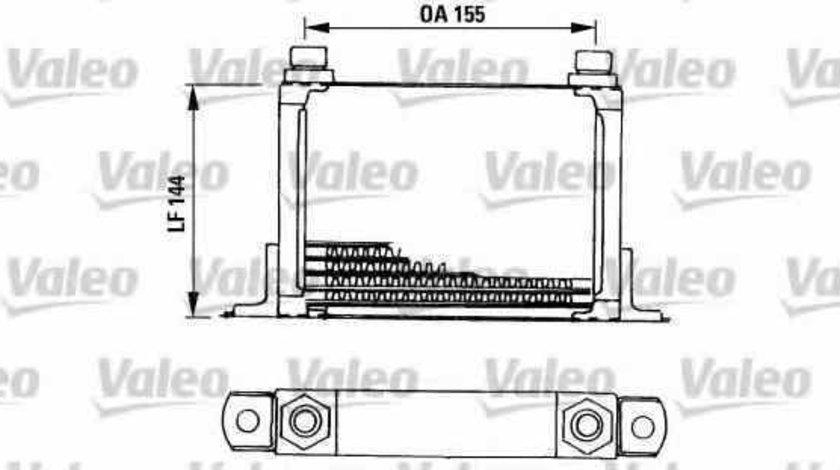 Radiator ulei ulei motor FIAT MAREA 185 VALEO 816666