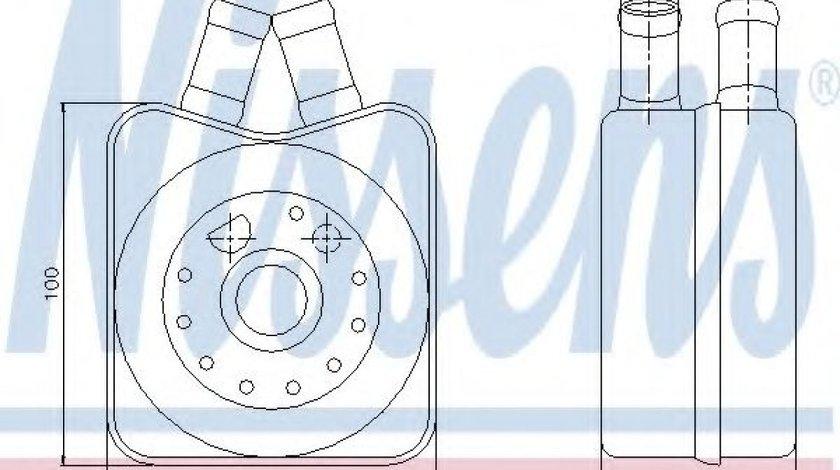 Radiator ulei, ulei motor FORD GALAXY (WGR) (1995 - 2006) NISSENS 90607 - produs NOU