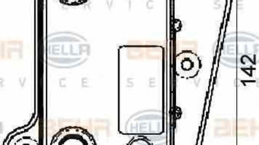Radiator ulei ulei motor MERCEDES-BENZ C-CLASS W202 HELLA 8MO 376 726-091