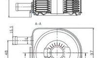 Radiator ulei, ulei motor PEUGEOT 206 SW (2E/K) (2...