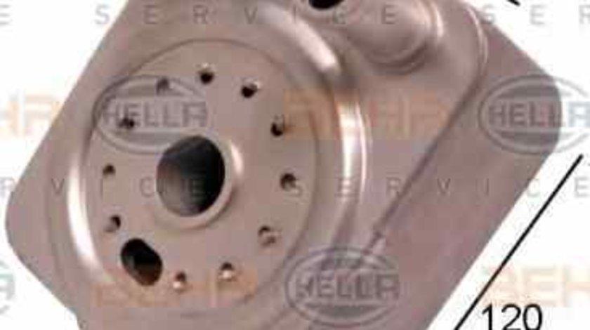 Radiator ulei, ulei motor VW JETTA III (1K2) HELLA 8MO 376 778-021