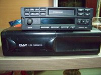 Radio caset cd original rds busines cu magazie 6cd changer bmw e36 e46