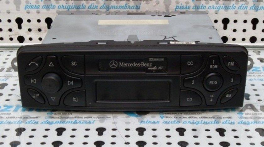 Radio casetofon, A2038201686, Mercedes Clasa C T-Model (S203) 2001-2007, (id:185619)
