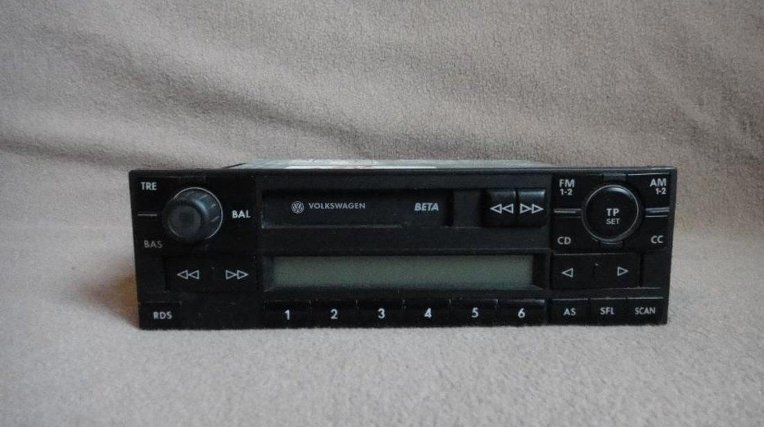 Radio casetofon beta volkswagen