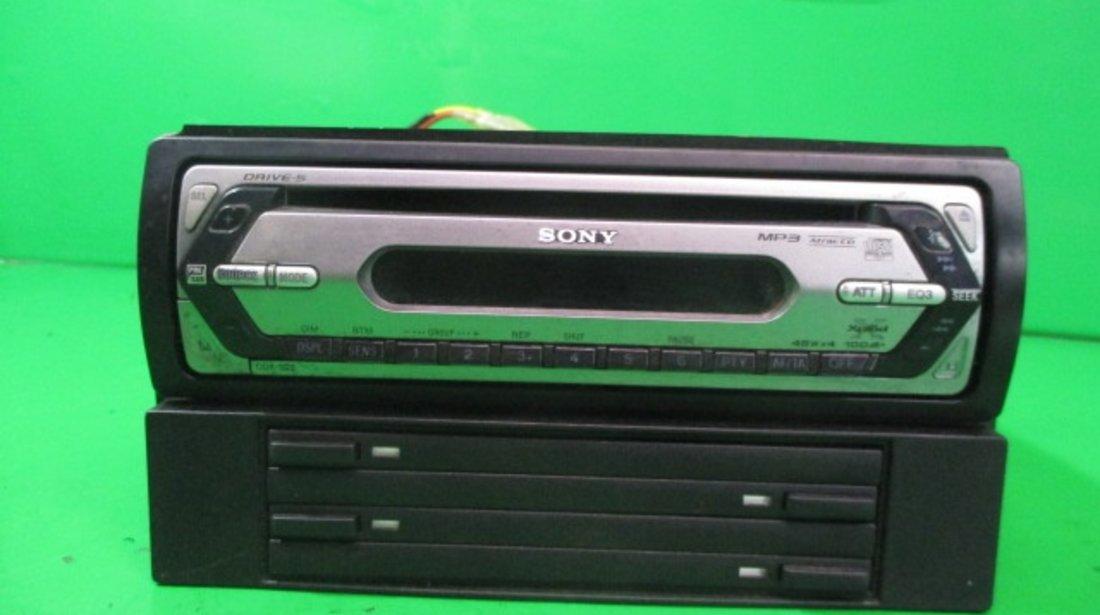 RADIO CASETOFON / CD PLAYER SONY + MAGAZIE CD-URI KIA SORENTO 1 FAB. 2002 – 2009 ⭐⭐⭐⭐⭐