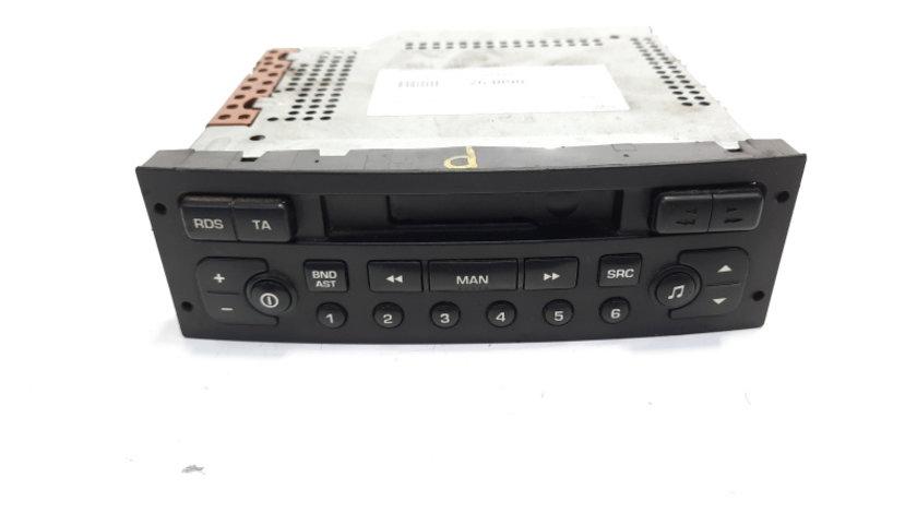 Radio casetofon, cod 96454436XT, Peugeot 307 SW (3H) (id:263890)