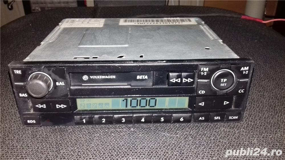 Radio casetofon Grundig VW Beta 5
