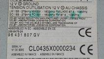 Radio casetofon Peugeot 607 1999~~2006 96431807GV