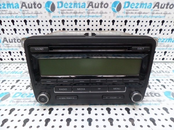 Radio cd 1K0035186AA, Vw Golf 6 (5K1) 2008-2012 (id.166519)