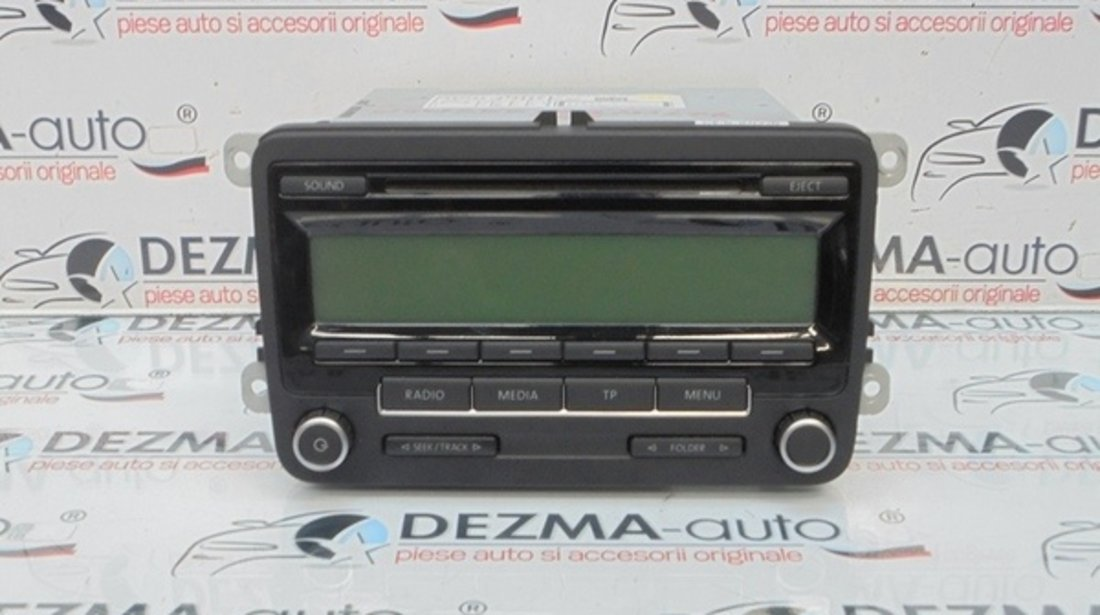 Radio cd, 1K0035186AA, Vw Golf 6 (5K1)