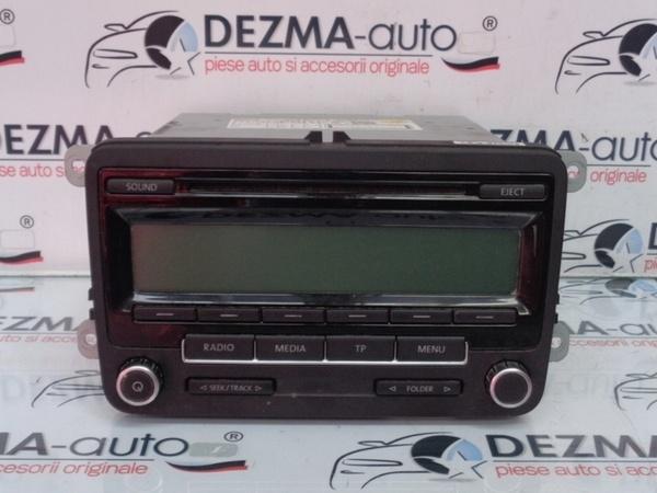Radio cd 1K0035186AA Vw Golf 6 Variant (AJ5) (id:223528)