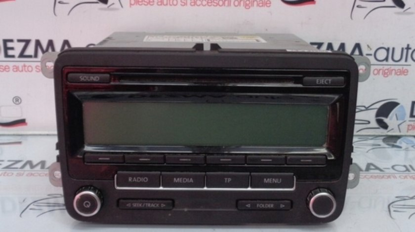 Radio cd 1K0035186AA Vw Golf 6 Variant (AJ5) (id:223528)