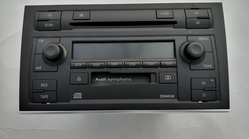 Radio CD 2din Symphony II ptr Audi A4 B5,B6,B7,Seat Exeo,Vw