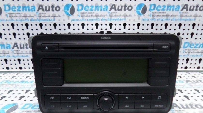 Radio cd 5J0035161, Skoda Roomster, 2006-2015 (id.157970)